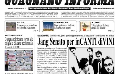 Guagnano Informa (anno VII – n. 1)