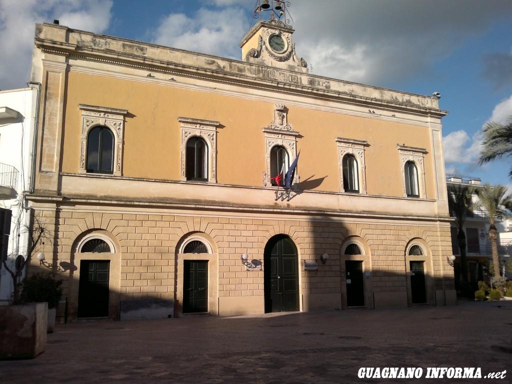 Il Palazzo Municipale di Campi Salentina, anche sede dell'Unione dei Comuni e dell'Ambito Territoriale