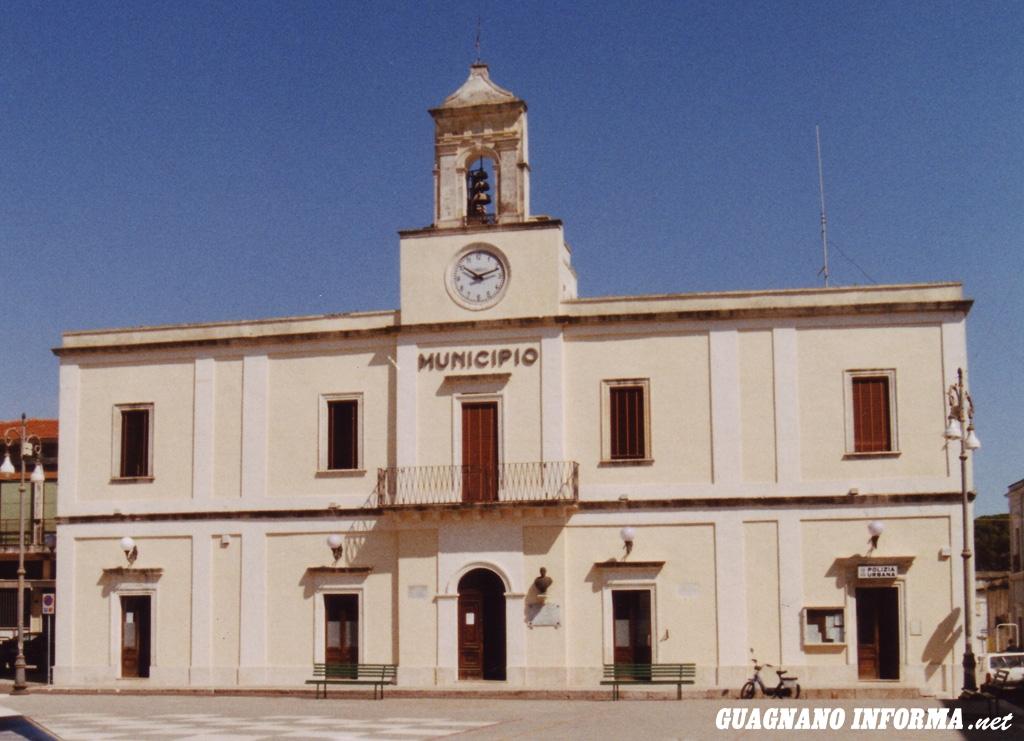 Il Palazzo Municipale di Guagnano