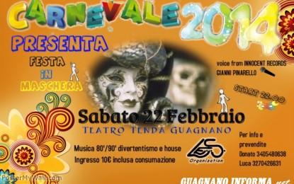 Il 22 febbraio festa in maschera al Teatro Tenda
