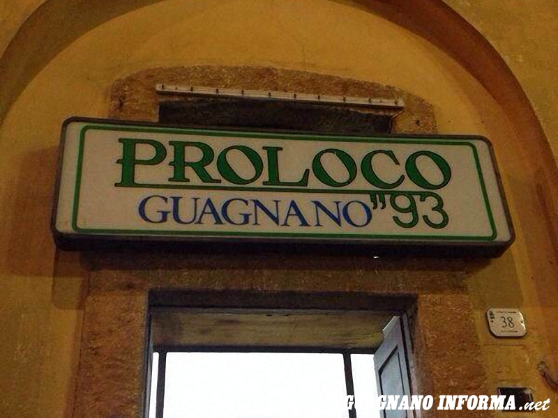 La sede di via Garibaldi della Pro Loco Guagnano '93