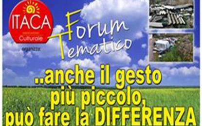 Venerdì l'associazione ITACA affronta il problema della differenziata a Salice