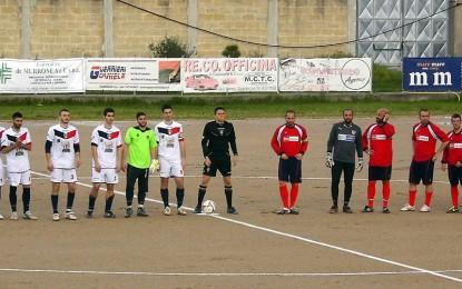 Football Guagnano, un pari giusto