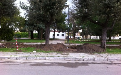 Irrigazione automatica a costo zero per la villa comunale guagnanese