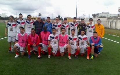 Football Guagnano, vittoria in zona Cesarini