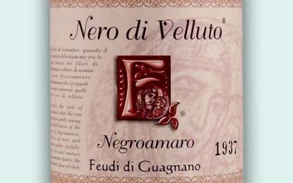 Stasera al Tiziano 'Feudi di Guagnano' racconta la storia del Nero di Velluto in una verticale di sei vendemmie