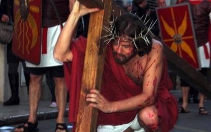 Stasera a Guagnano la sacra rappresentazione della Passione di Cristo
