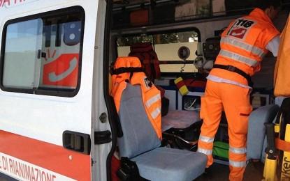 Parte uno sparo, una guagnanese trasportata d'urgenza al Vito Fazzi di Lecce
