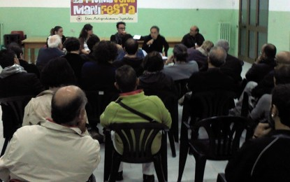Sabato a Villa Baldassarri torna la PrimaVERA ManiFESTA. Appuntamento alle 18.30