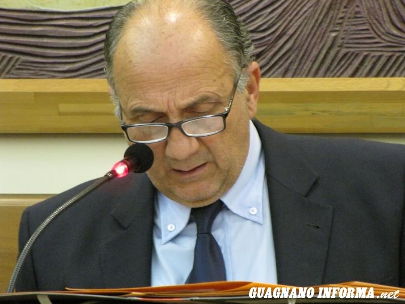 Il primo cittadino di Guagnano, Fernando Leone (foto Diego Civino)