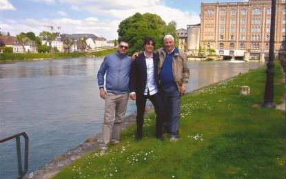 Torna in Francia dopo cinquant'anni. Grandi emozioni per il guagnanese Domenico Perrone