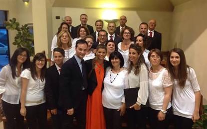 Il Coro 'Mater Dei' di Villa Baldassarri al matrimonio della sorella di Alessandra Amoroso