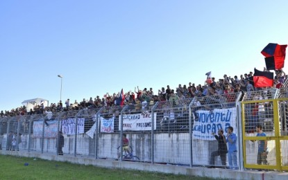 Football Guagnano, standing ovation per l'Uggiano