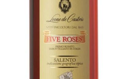 Medaglia d'argento per il Five Roses al 'The Global Rosé Masters' di Londra