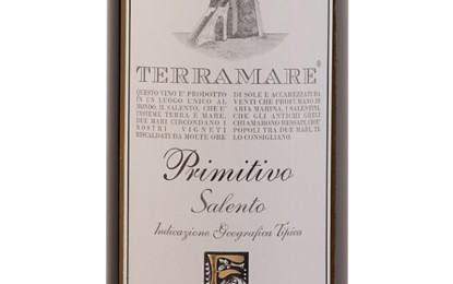 Medaglia d'argento al 'Terramare Primitivo 2012' di Feudi di Guagnano