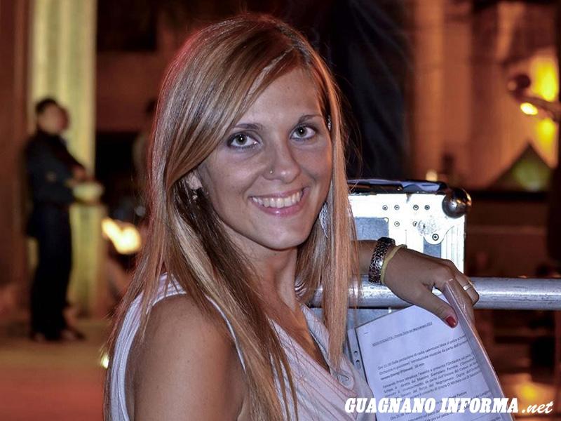 L'autrice guagnanese Mimma Leone (foto Marco Arnesano)
