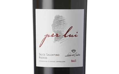 Tre bicchieri per il 'Per Lui' di Leone De Castris