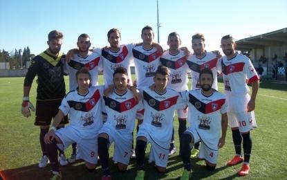 Football Guagnano, i rossoblú vincono ad Ugento e riprendono la testa della classifica