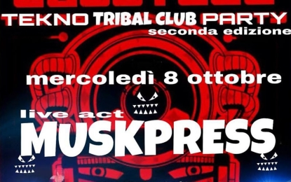 Continuano gli appuntamenti targati 'Tribal Club'. Mercoledí tocca a DJ Mask