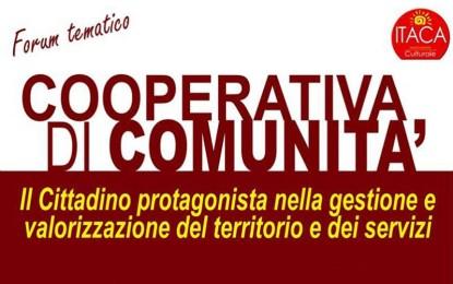 Domani un forum tematico organizzato dall'associazione Itaca