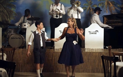 Paolo Conte realizza il clip del suo ultimo singolo nel Salento. Nel cast di 'Tropical' anche un giovane salicese