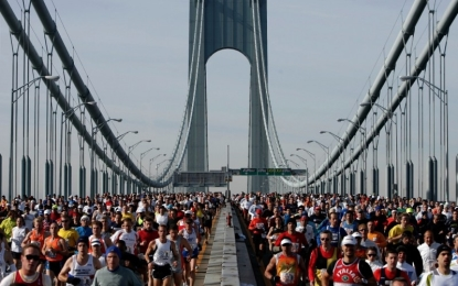 Un 'abacussiano' alla maratona di New York. L'orgoglio del coach e dei suoi compagni