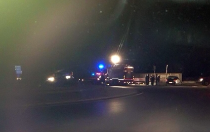 Spaventoso incidente ieri sera a Guagnano: illesi i conducenti, lievi ferite per un passeggero