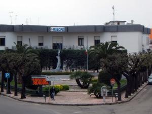 Il Palazzo Municipale di Veglie