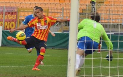 US Lecce, con il Matera termina 2-0 grazie a un super Herrera. I giallorossi posso ancora sperare