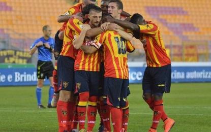 US Lecce, i giallorossi tornano a vincere con un doppio Moscardelli