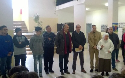 I baby consiglieri guagnanesi consegnano il Premio della Bontà alle Suore Antoniane