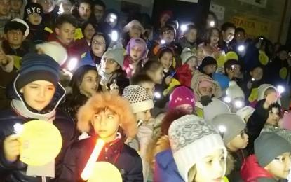 """""""M'illumino di meno"""": anche i bimbi della primaria di via Provinciale in prima linea per il risparmio energetico"""