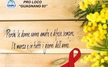 """La Pro Loco guagnanese domenica é alla Villetta della Madonnina con i """"Fiocchi di Mimosa"""". Il ricavato sarà devoluto"""