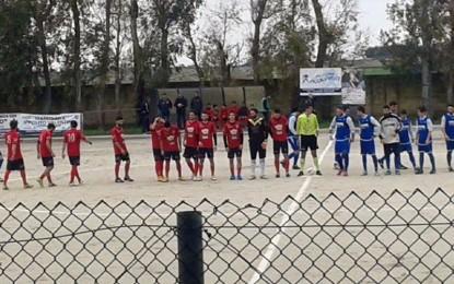 Football Guagnano, un ottimo pari sul campo di una diretta avversaria