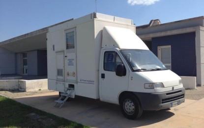 Al Poliambulatorio la stazione mobile dell'ARPA. I dati verranno confrontati con la centralina di Villa Baldassarri