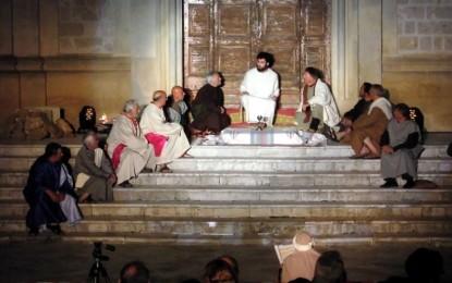 Sabato in piazza Maria SS. del Rosario va in scena la Passione di Cristo