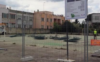 Parte la ristrutturazione degli impianti sportivi di Guagnano e Villa Baldassarri