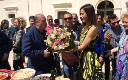Ricette all'Italiana, Michela Coppa: «Guagnano, una delle piazze più accoglienti e più belle del Salento»