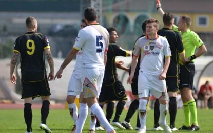 US Lecce, giallorossi sconfitti di misura a Melfi