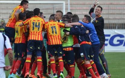 US Lecce, vittoria al cardiopalma nel derby pugliese contro il Foggia