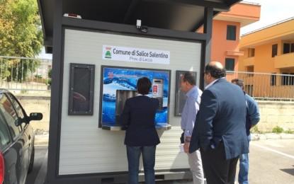 Inaugurata la casetta dell'acqua di via Gramsci a Salice