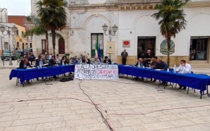 Il Consiglio Comunale straordinario si chiude con la netta e unanime contrarietà alla chiusura della Caserma dei Carabinieri di Salice