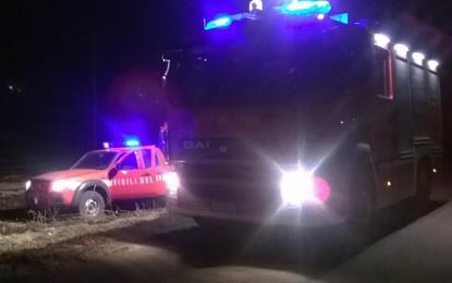 Paura al canile di Salice, scoppia un incendio in Contrada Chianca