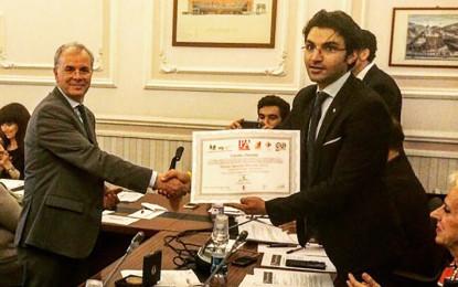Il Presidente del GAL Cosimo Durante riceve il Premio Speciale ProArte 2015