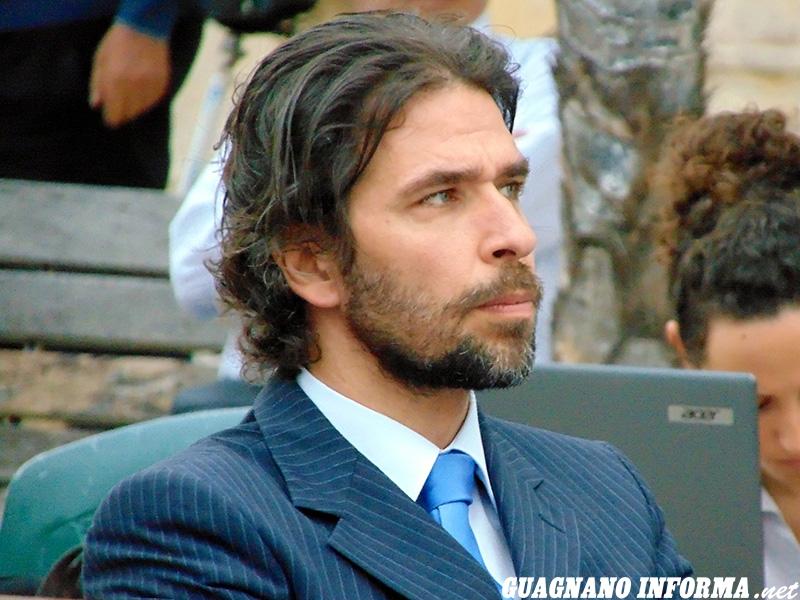 Il vicesindaco di Salice Salentino Alessandro Ruggeri (foto Luca Ciccarese)