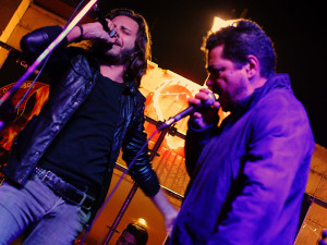 Alfredo Quaranta e Treble in un live con i Salento All Stars
