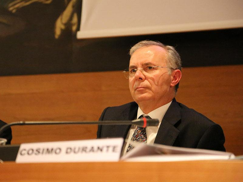 Il presidente del GAL Terra d'Arneo Cosimo Durante