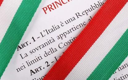 Domenica a Villa Baldassarri si consegna la Costituzione ai neomaggiorenni