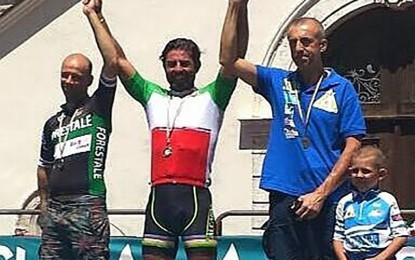 Carlo Calcagni conquista altre due medaglie d'oro nei Campionati Italiani di Ciclismo Paralimpico