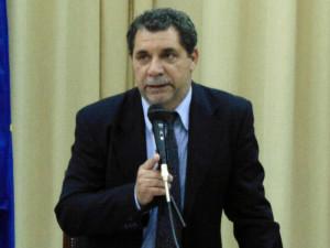 Il primo cittadino di Veglie, Claudio Paladini (foto Luca Ciccarese)